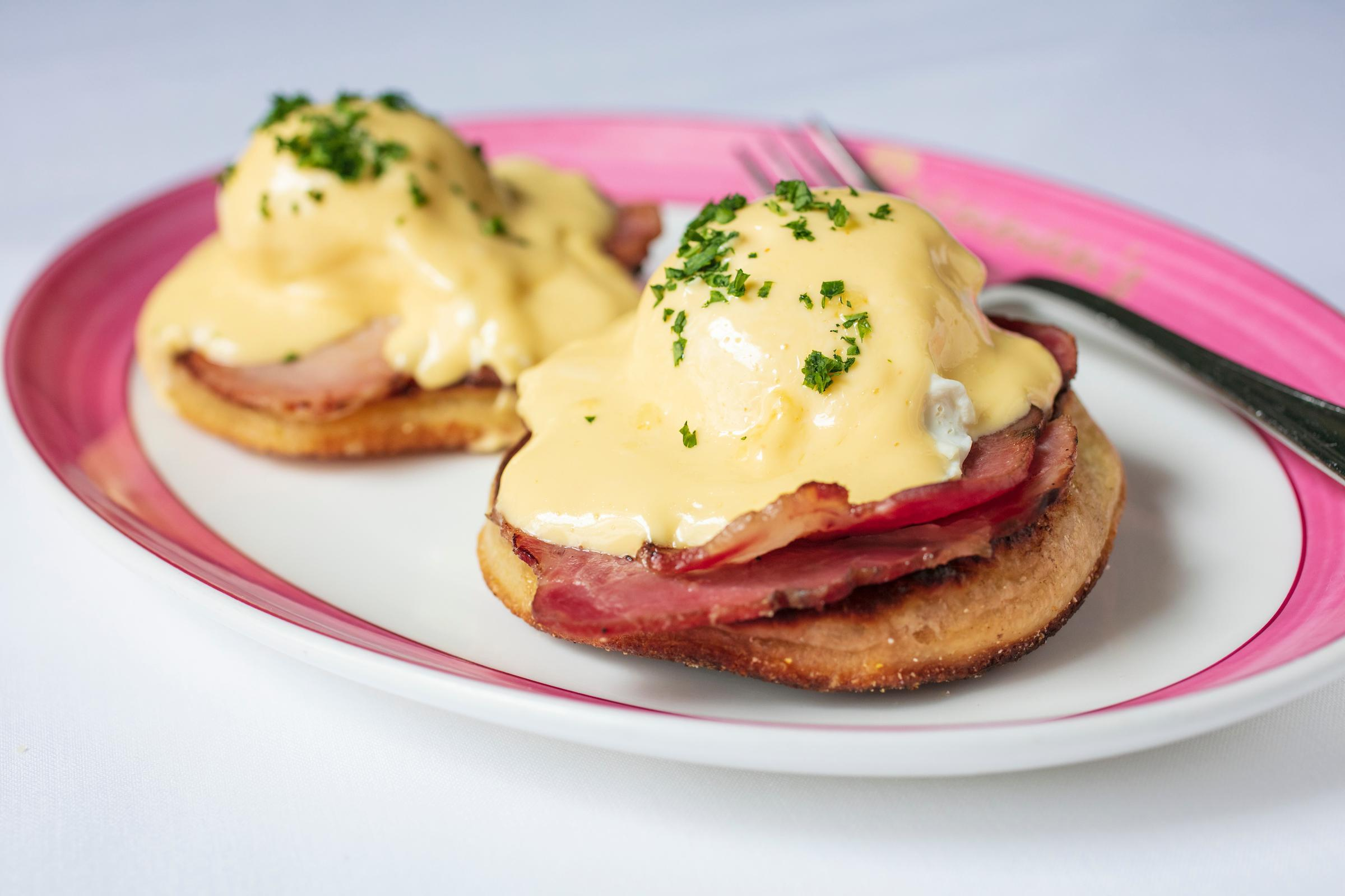 Artisanal Eggs Benedict Photo