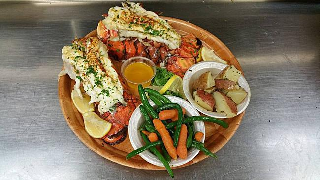 Broiled Lobster Tails Photo