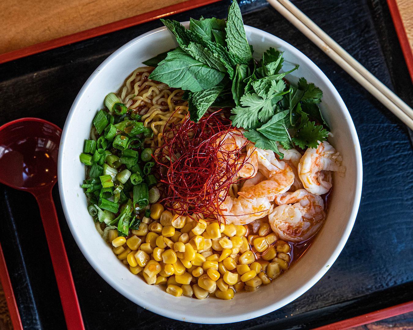green curry shrimp