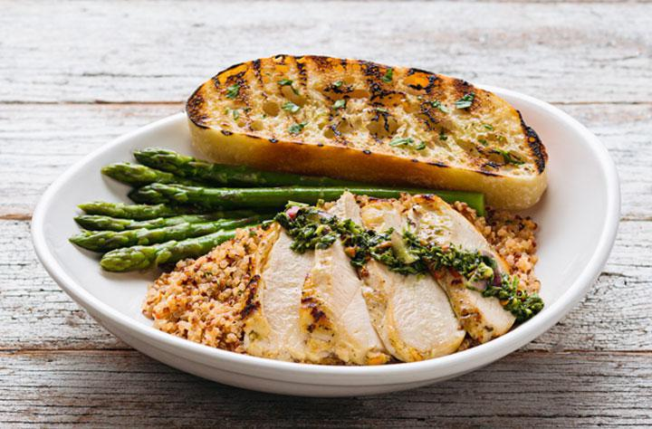 Chimichurri Chicken Plate