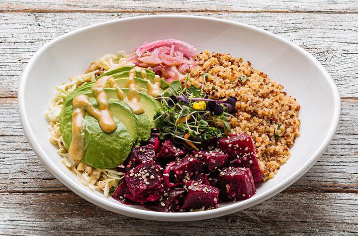 Beets + Avocado Bowl