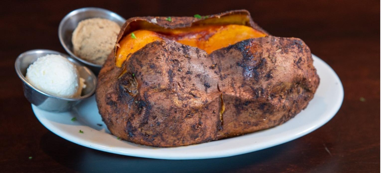 BBQ-Rubbed Sweet Potato