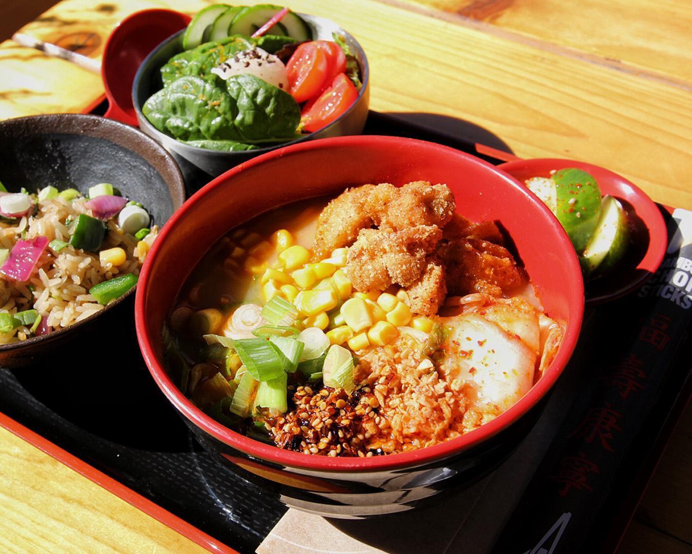 kimchi & fried chicken