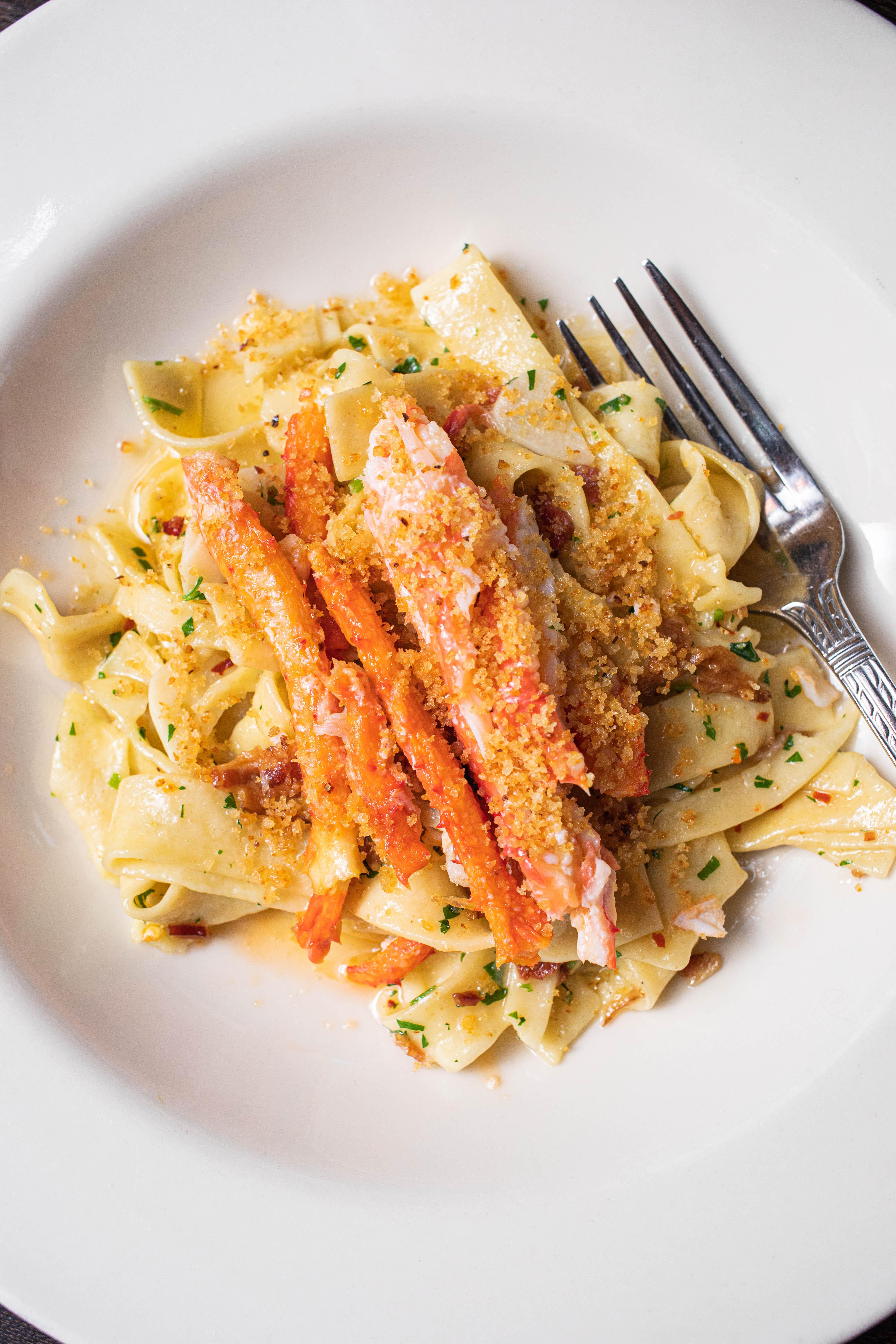 King Crab Pappardelle