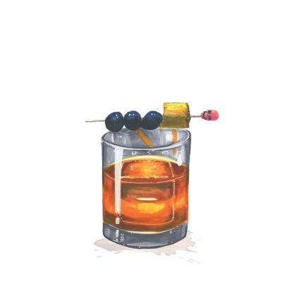 Single Cask Old Fashioned