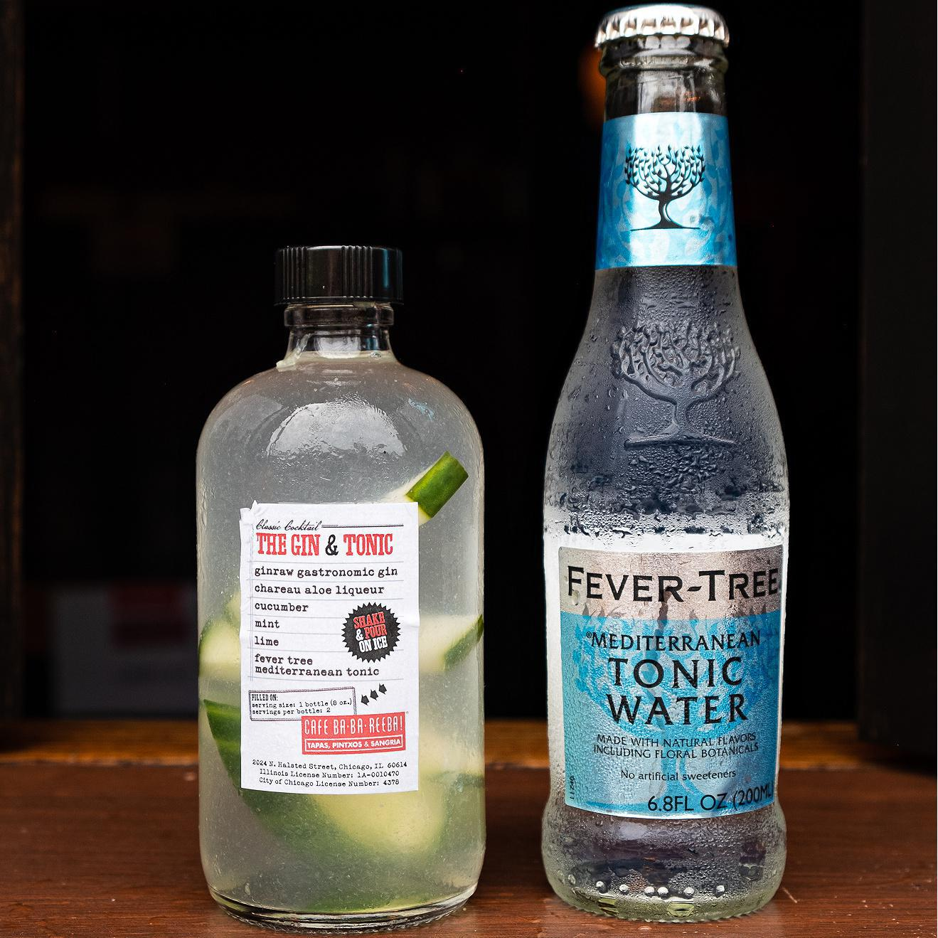 Gin & Tonic To-Go (serves 2)