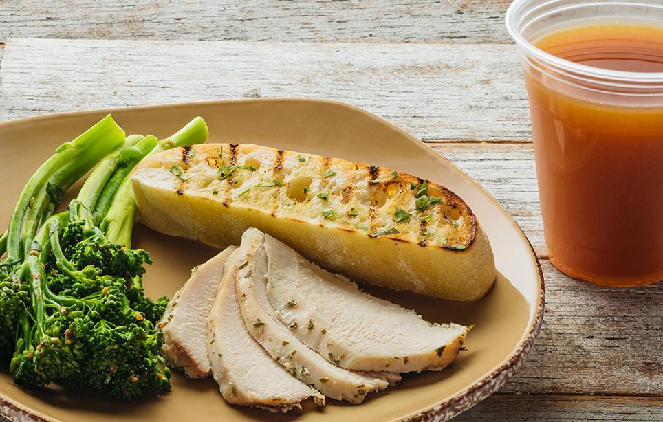 Kid's Chicken Plate