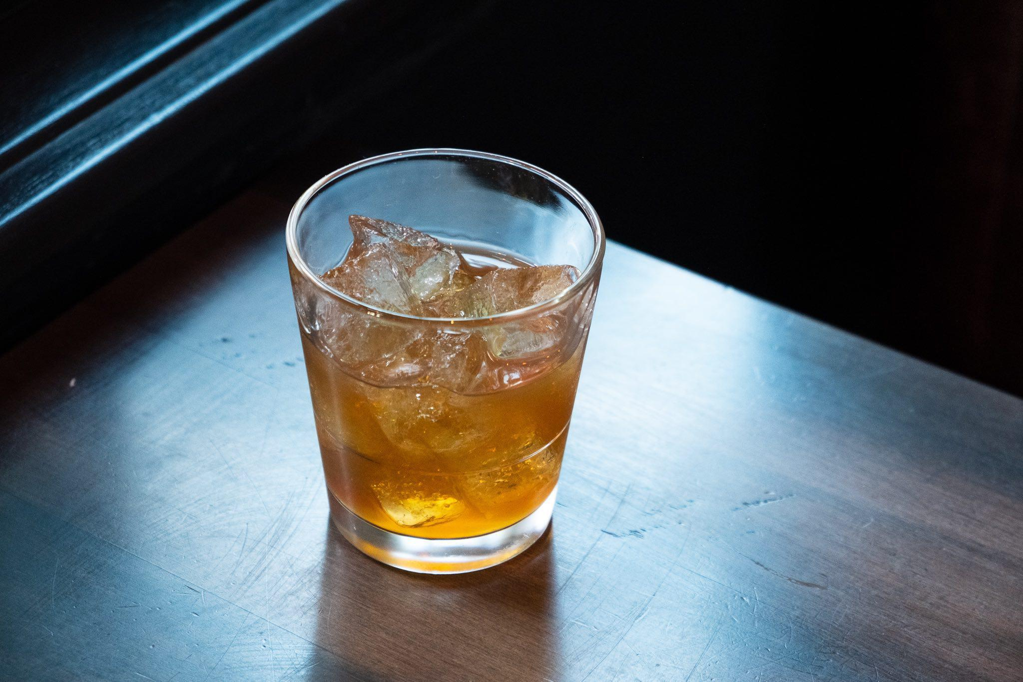 sherry old fashioned