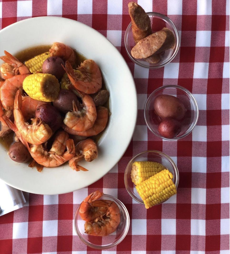 Cook at Home - New Orleans Shrimp Boil