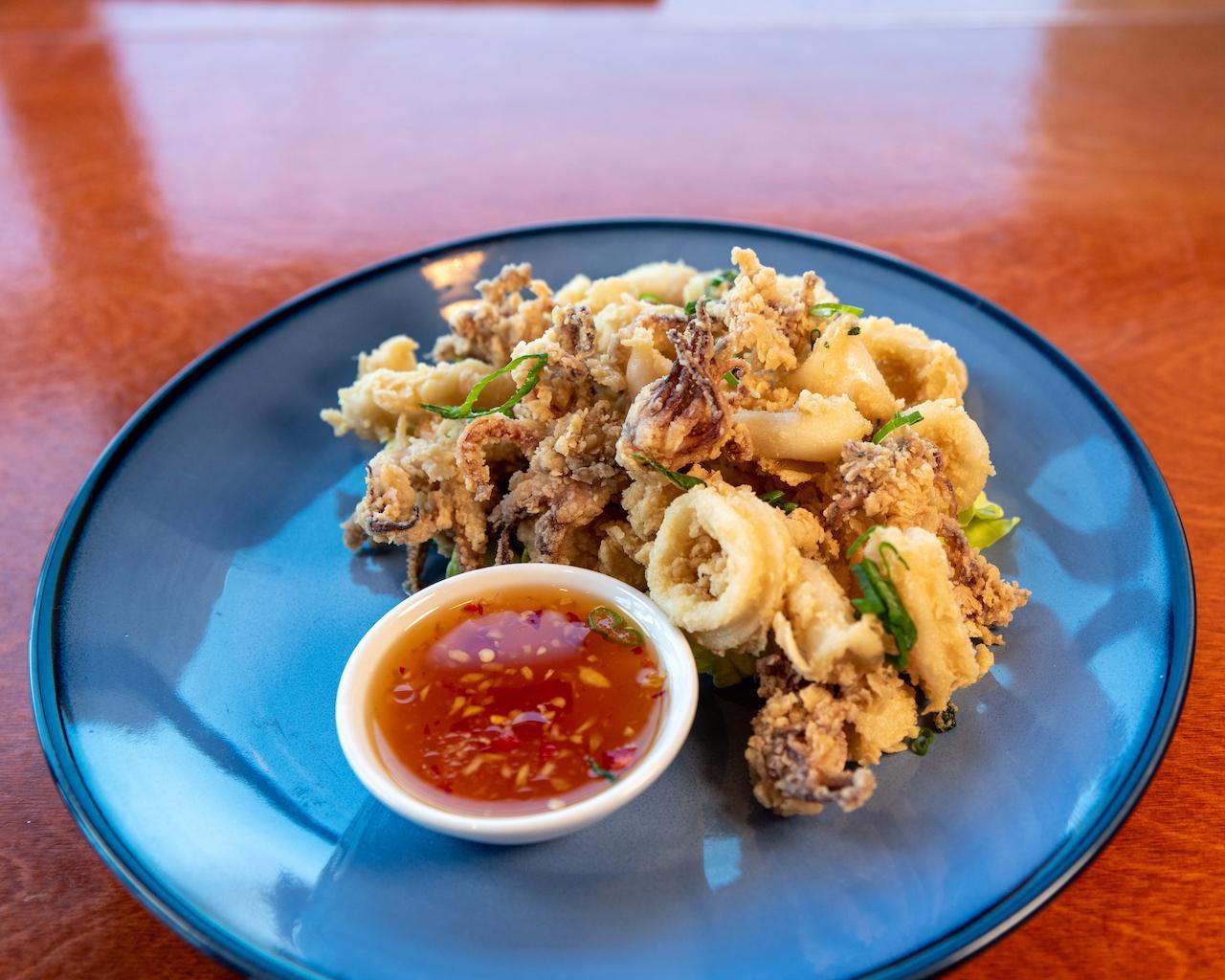 Thai Herb Fresh Calamari