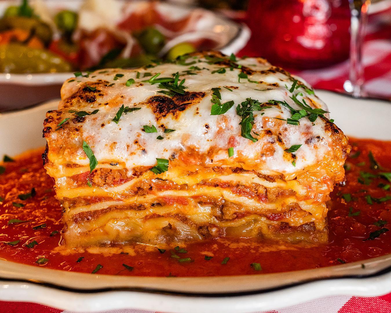 Baked Burrata Lasagna