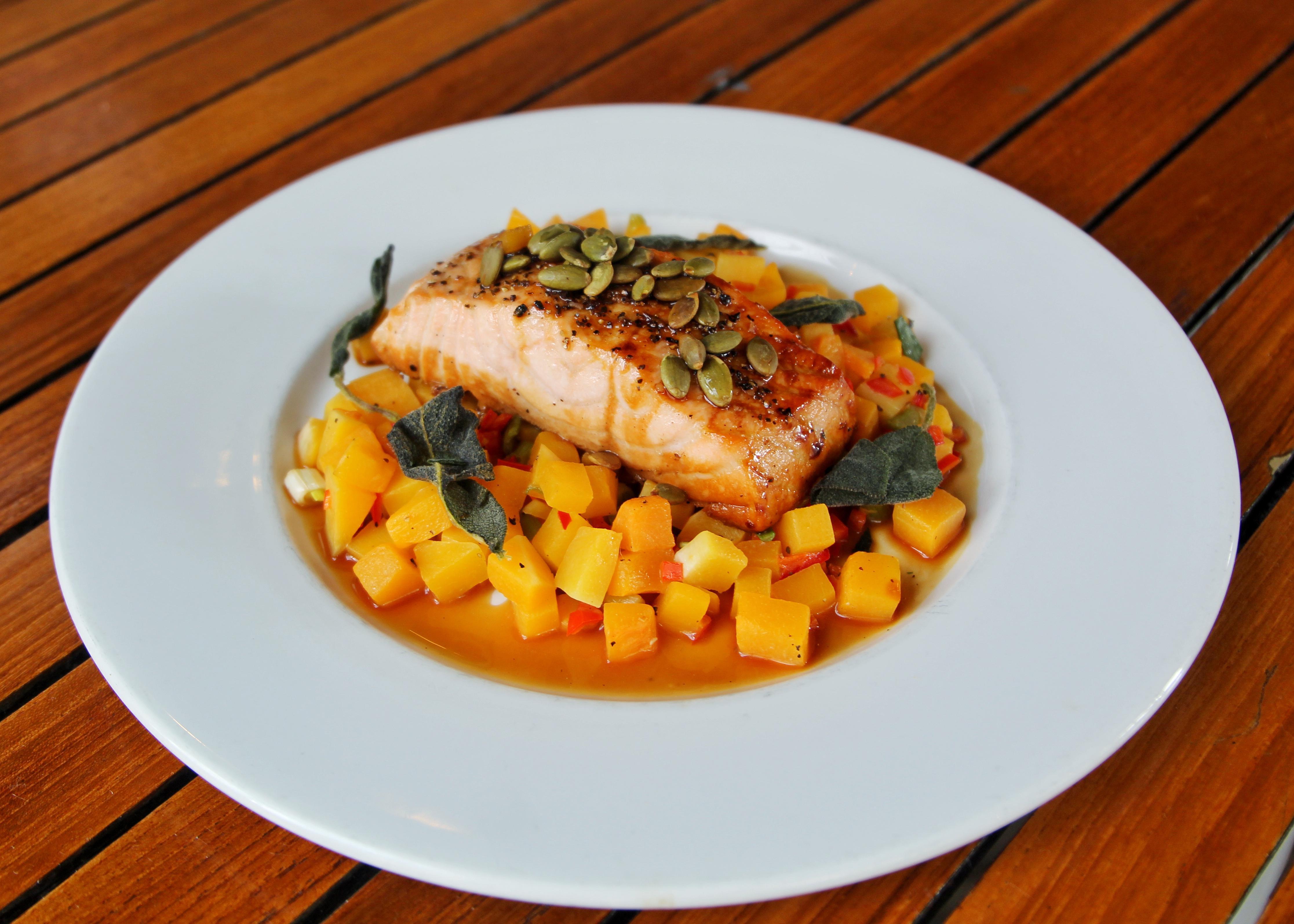 Umami Glazed Salmon