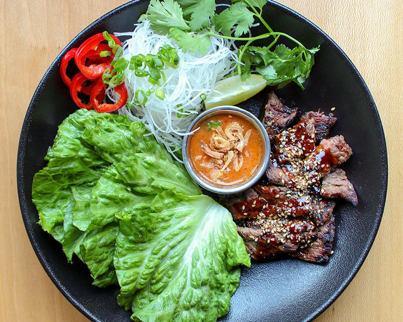BBQ Beef Lettuce Wraps