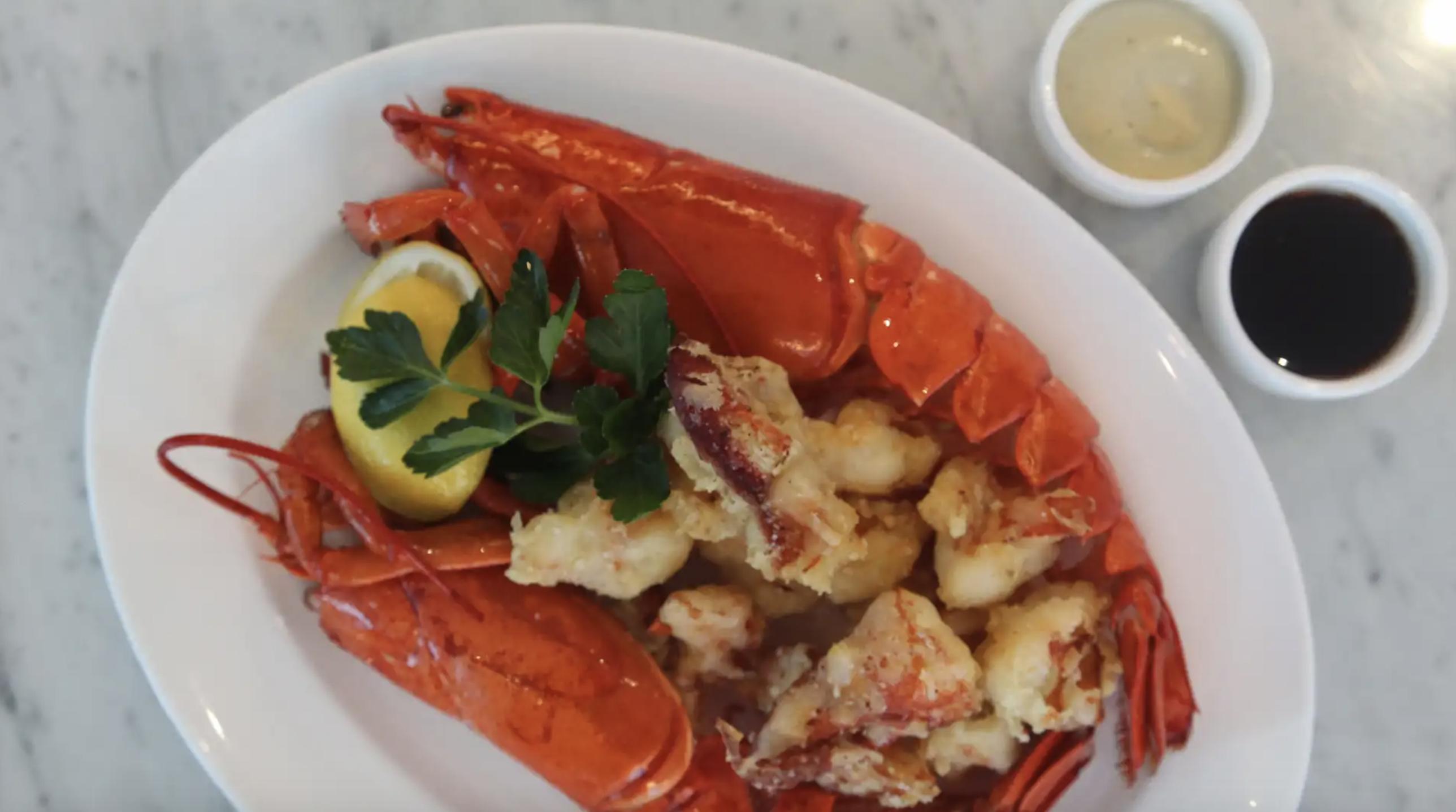 Maine Lobster Tempura