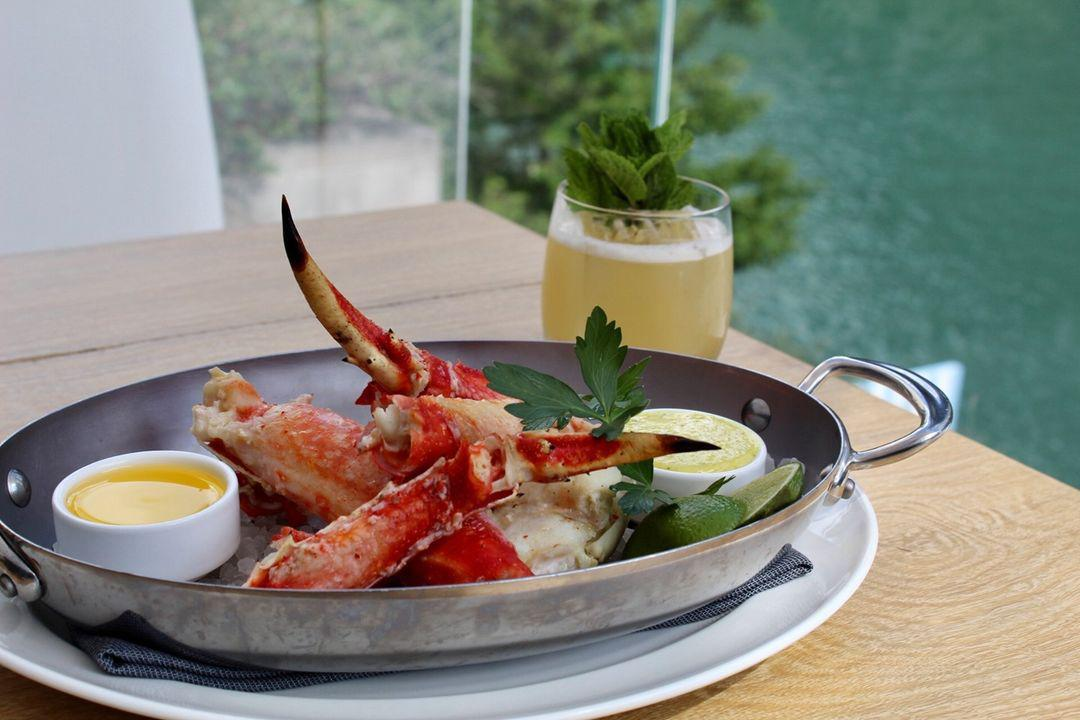 Grilled King Crab*