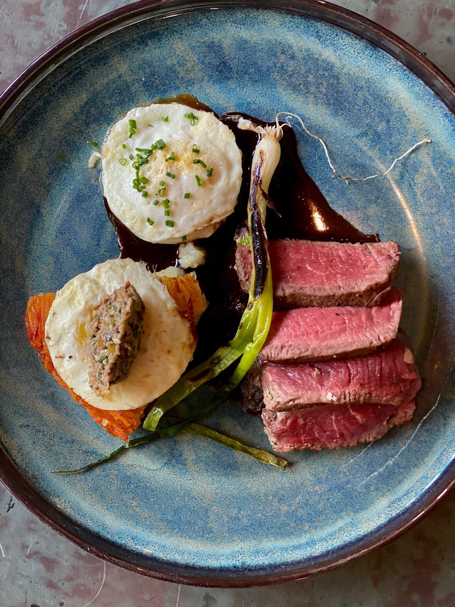 Steak & Eggs Photo