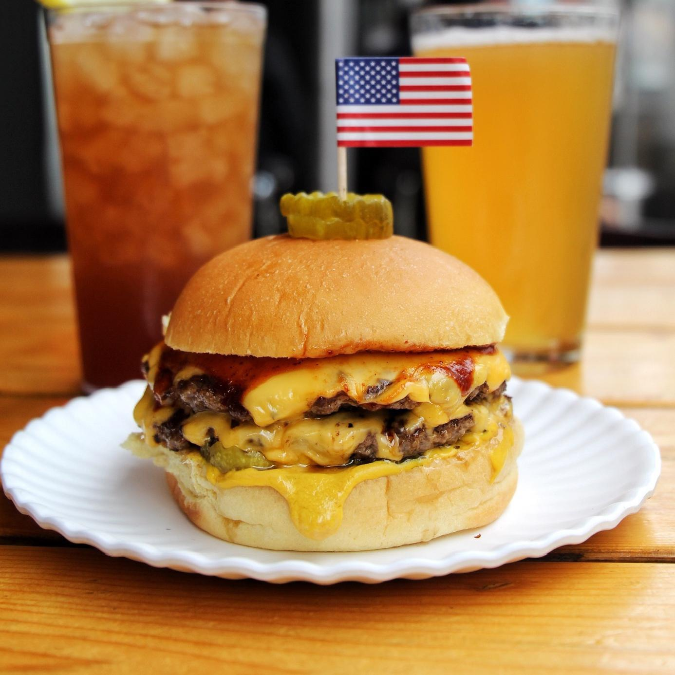 All-American Double Burger*
