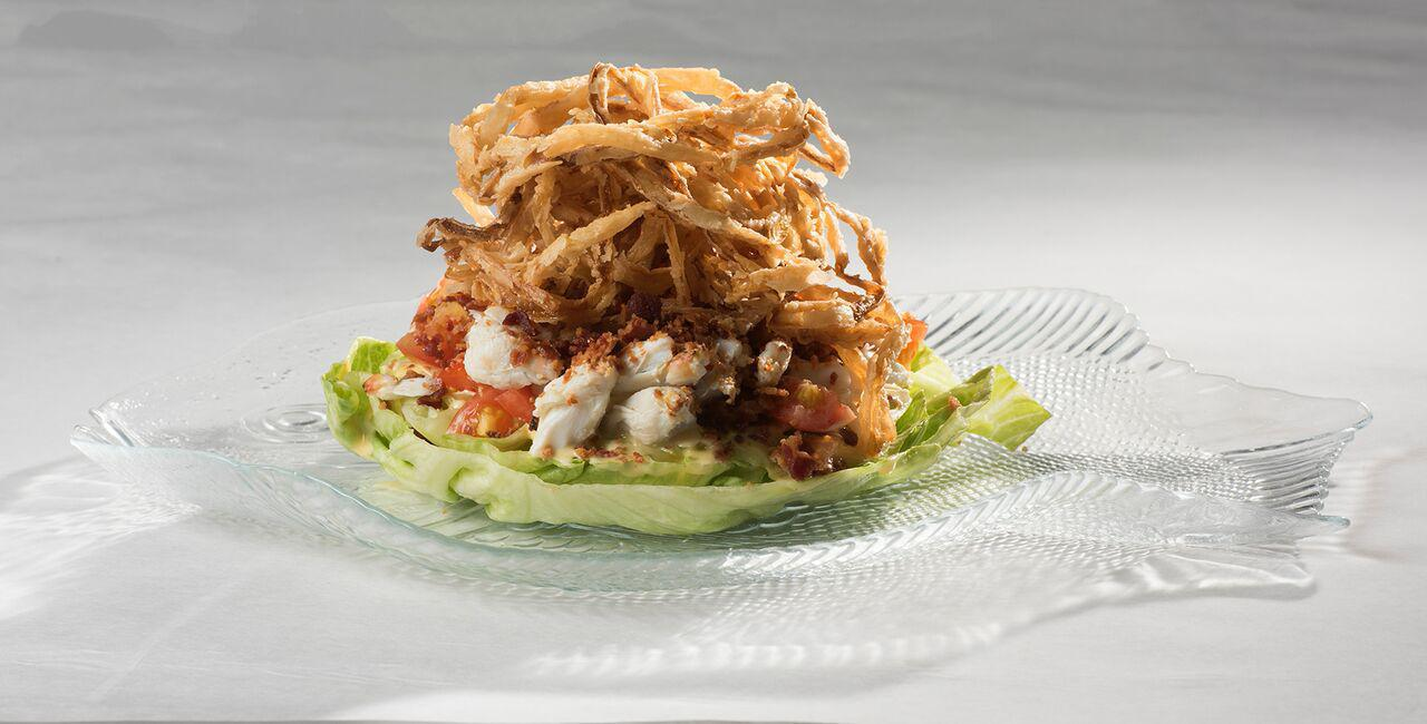 Crab Wedge Salad Photo