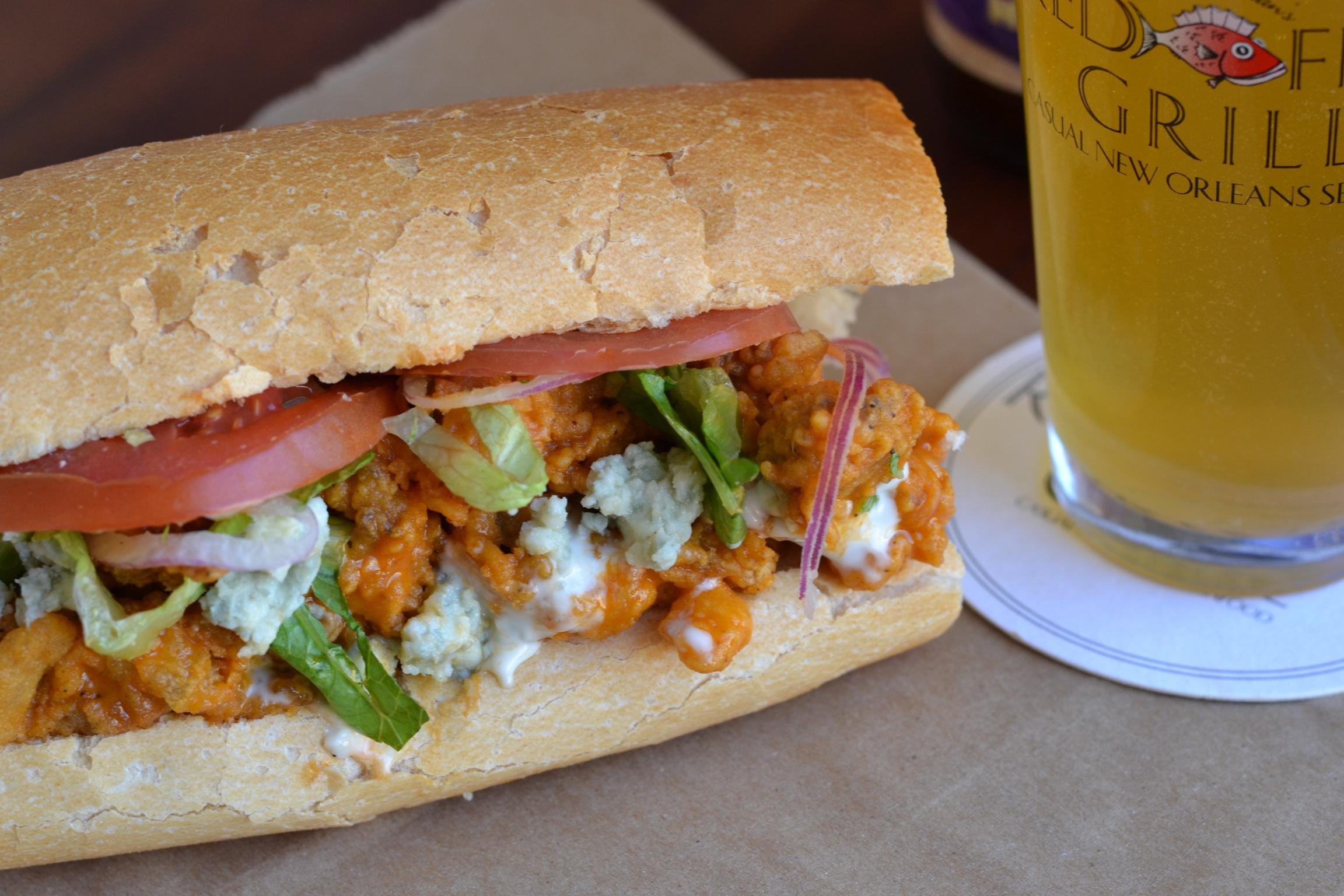 Signature BBQ Oyster Po-Boy Photo