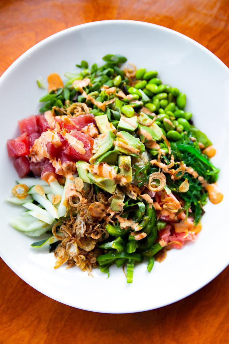 Ahi Tuna Poké Bowl*