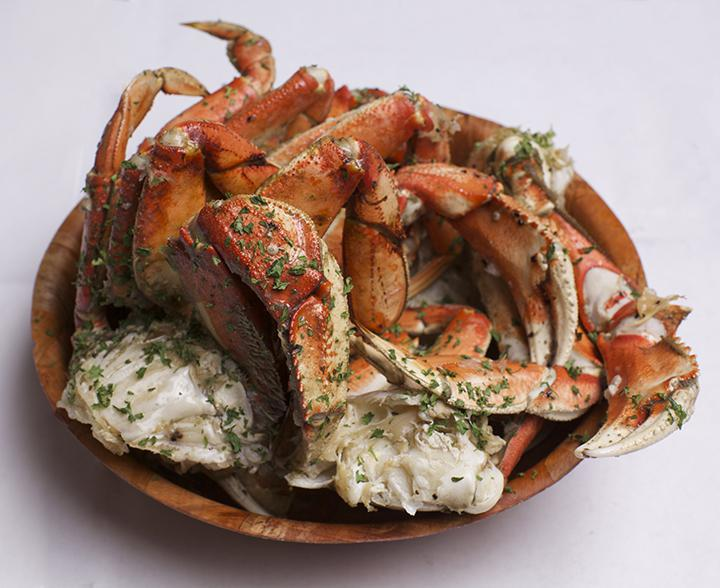 Dungeness Garlic Crabs Photo