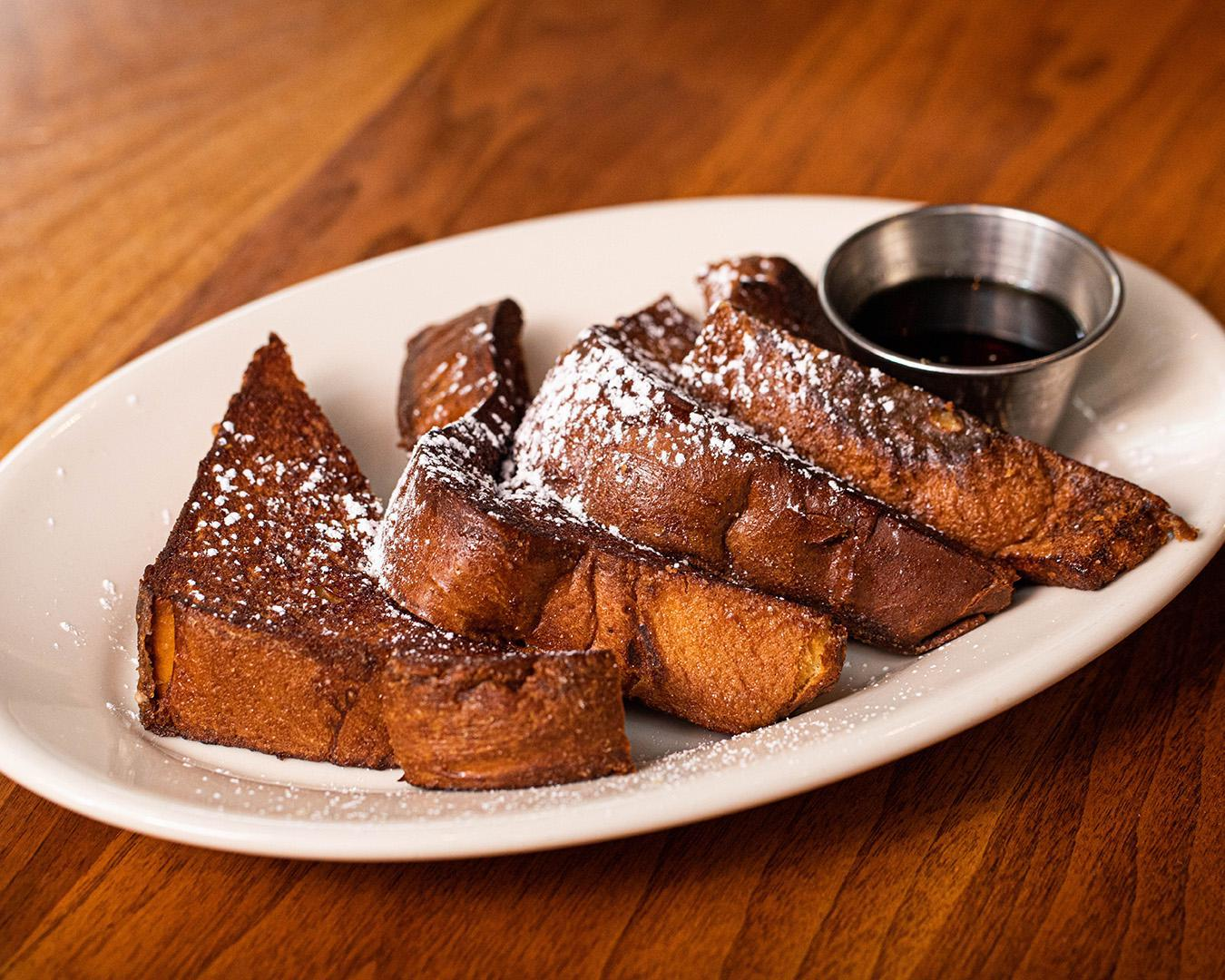 Thick-Cut Brioche French Toast