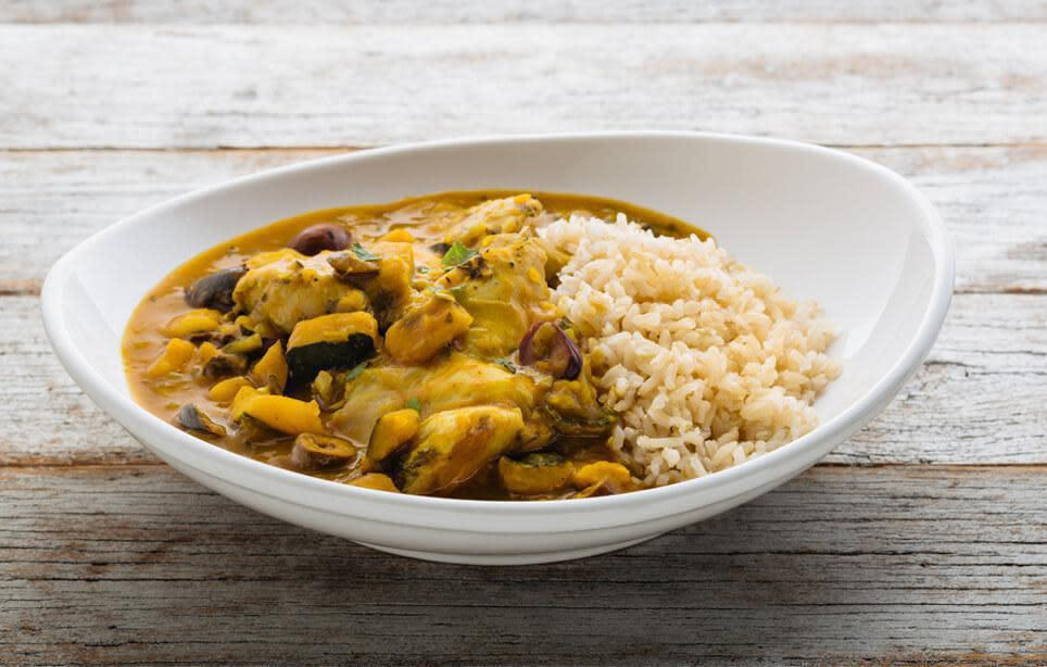 Moroccan Chicken Braise