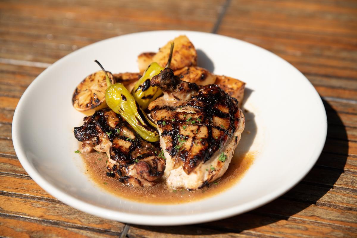 WEDNESDAY: Fire-Grilled Greek Chicken