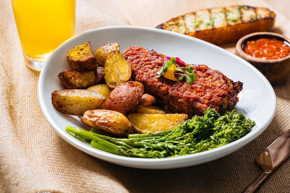 Garden Meatloaf Special