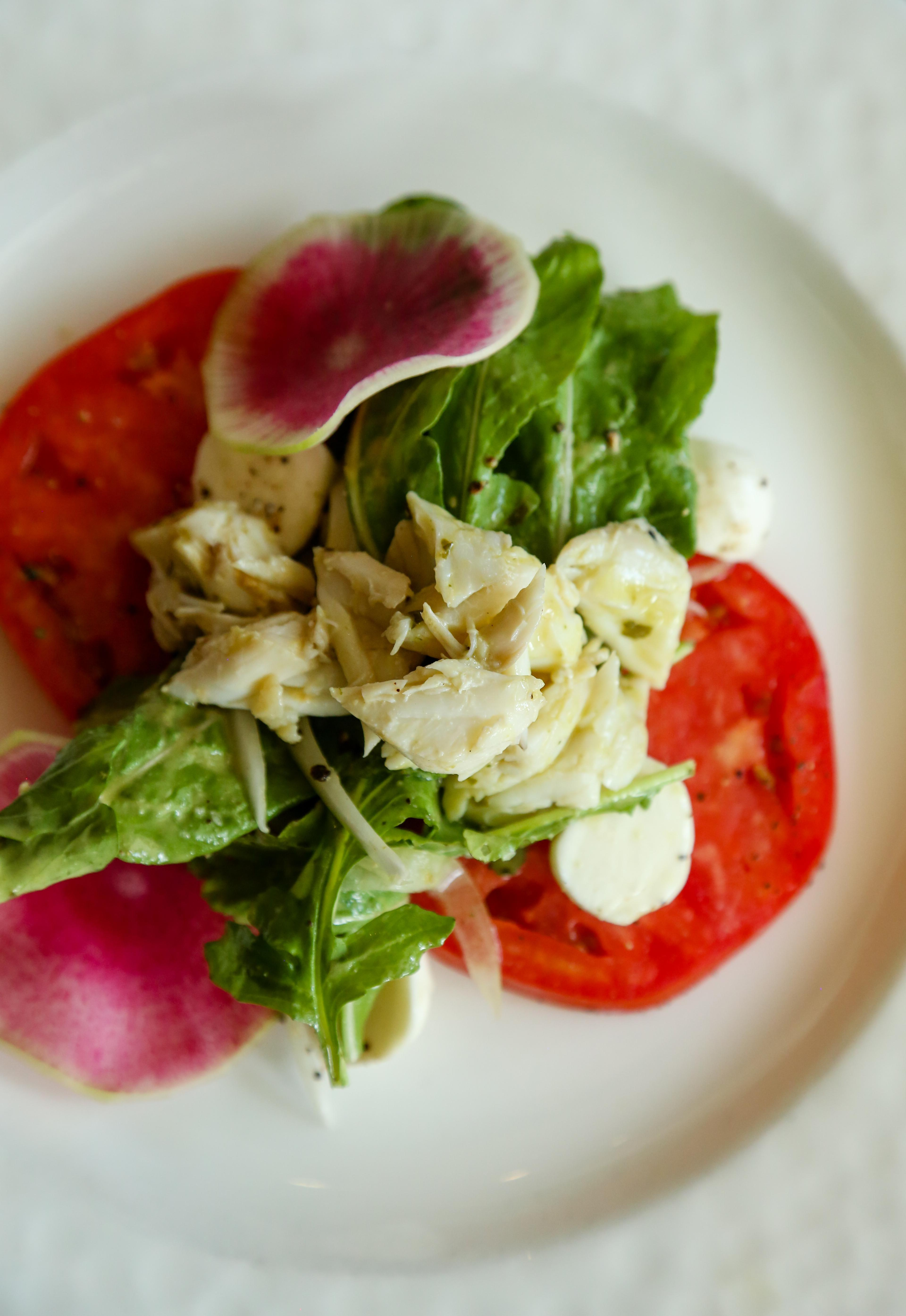 Louisiana Crab & Creole Tomato Salad Photo