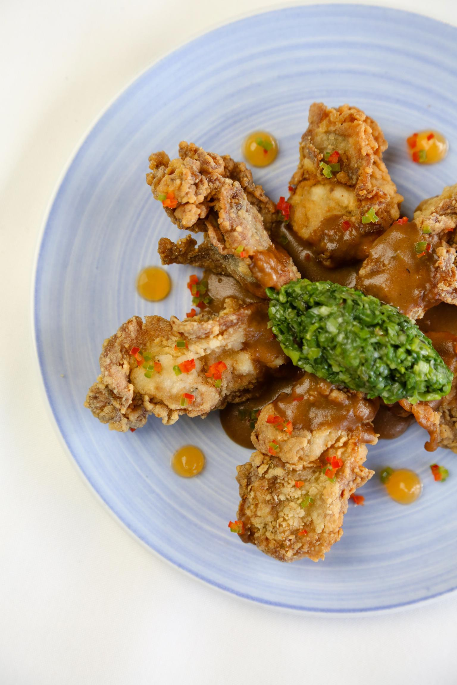 Fried Oysters Photo