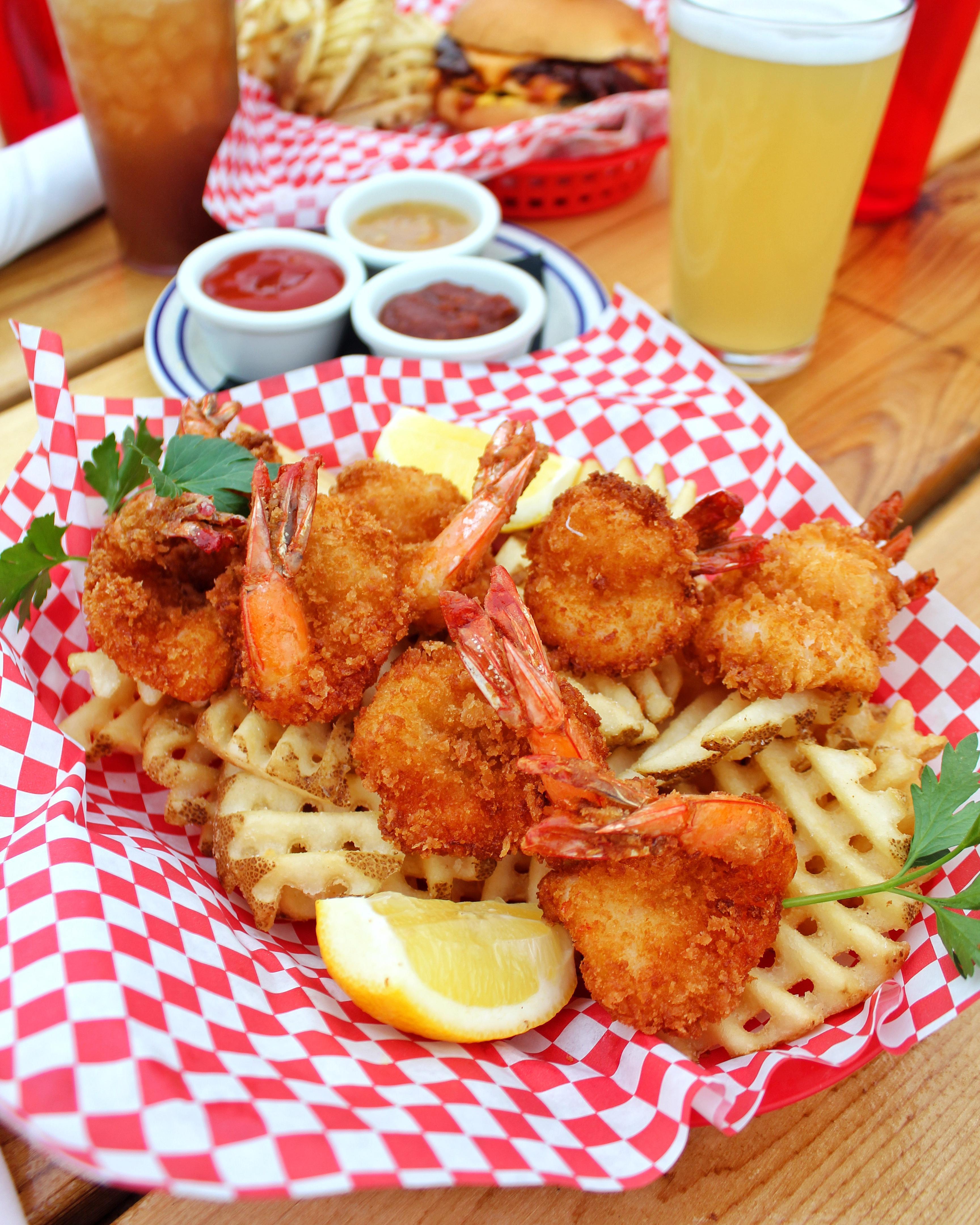 French Fried Shrimp Basket