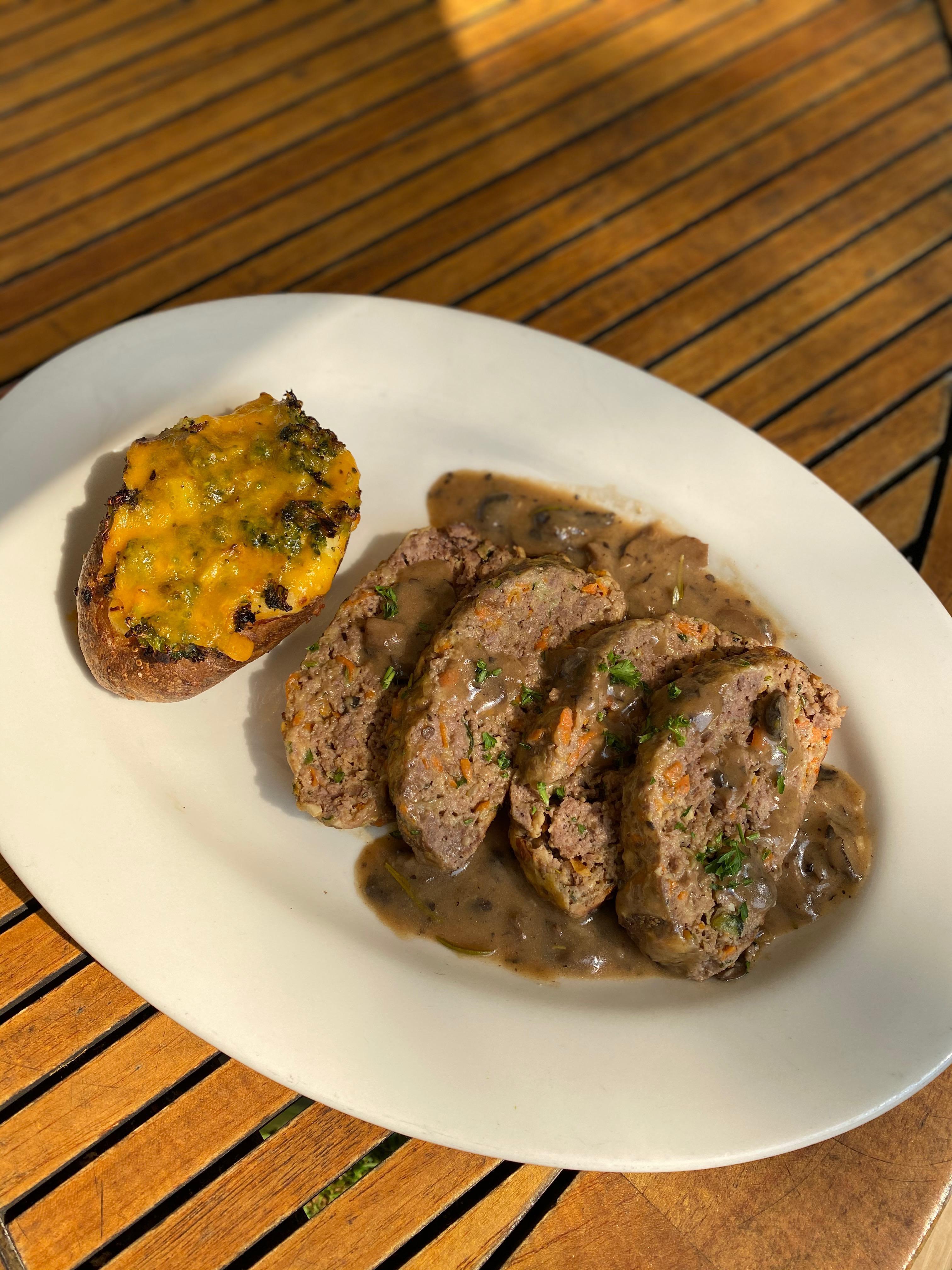 THURSDAY: Bison Meatloaf