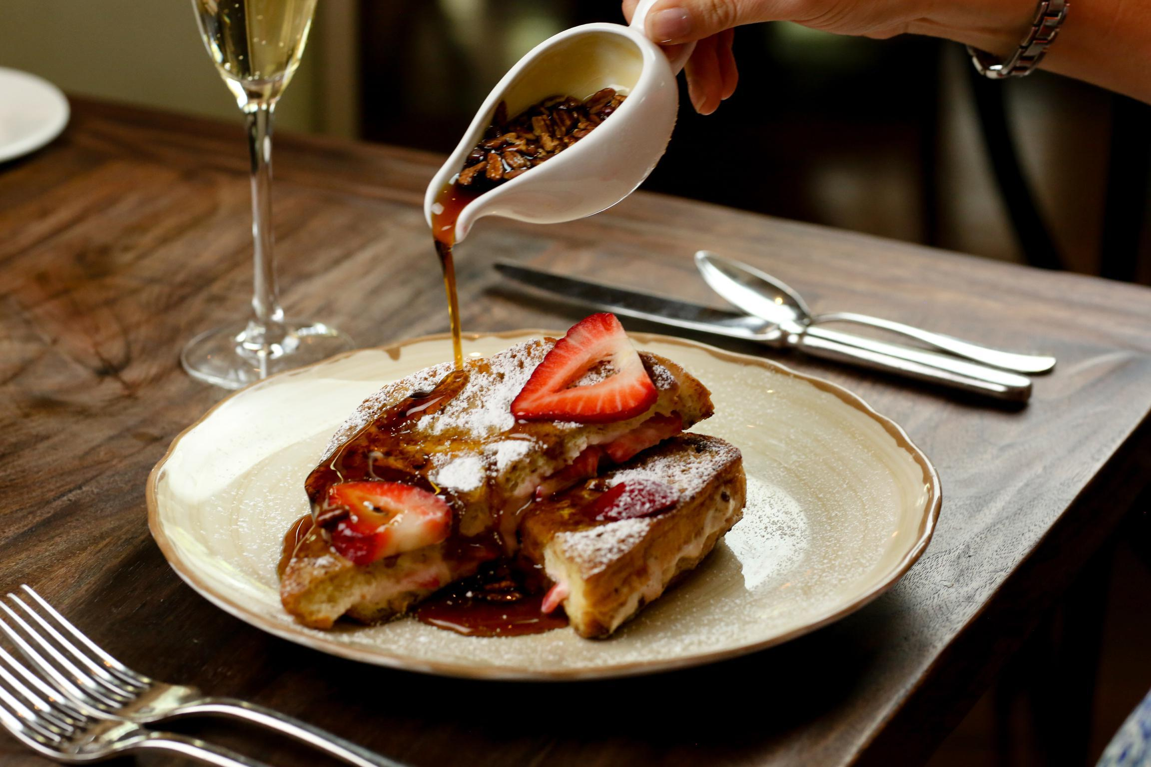 Strawberry French Toast Photo