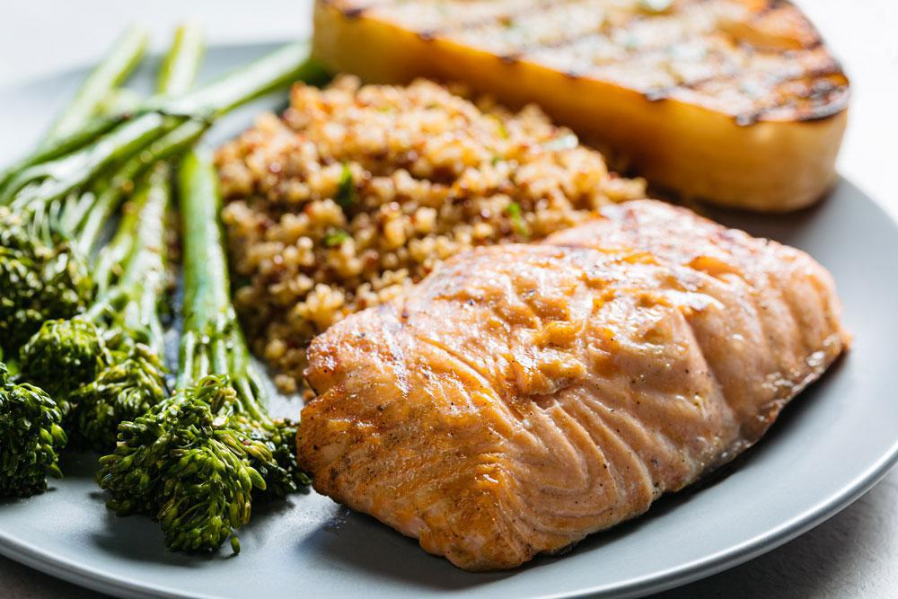 Sustainable Oven Baked Salmon