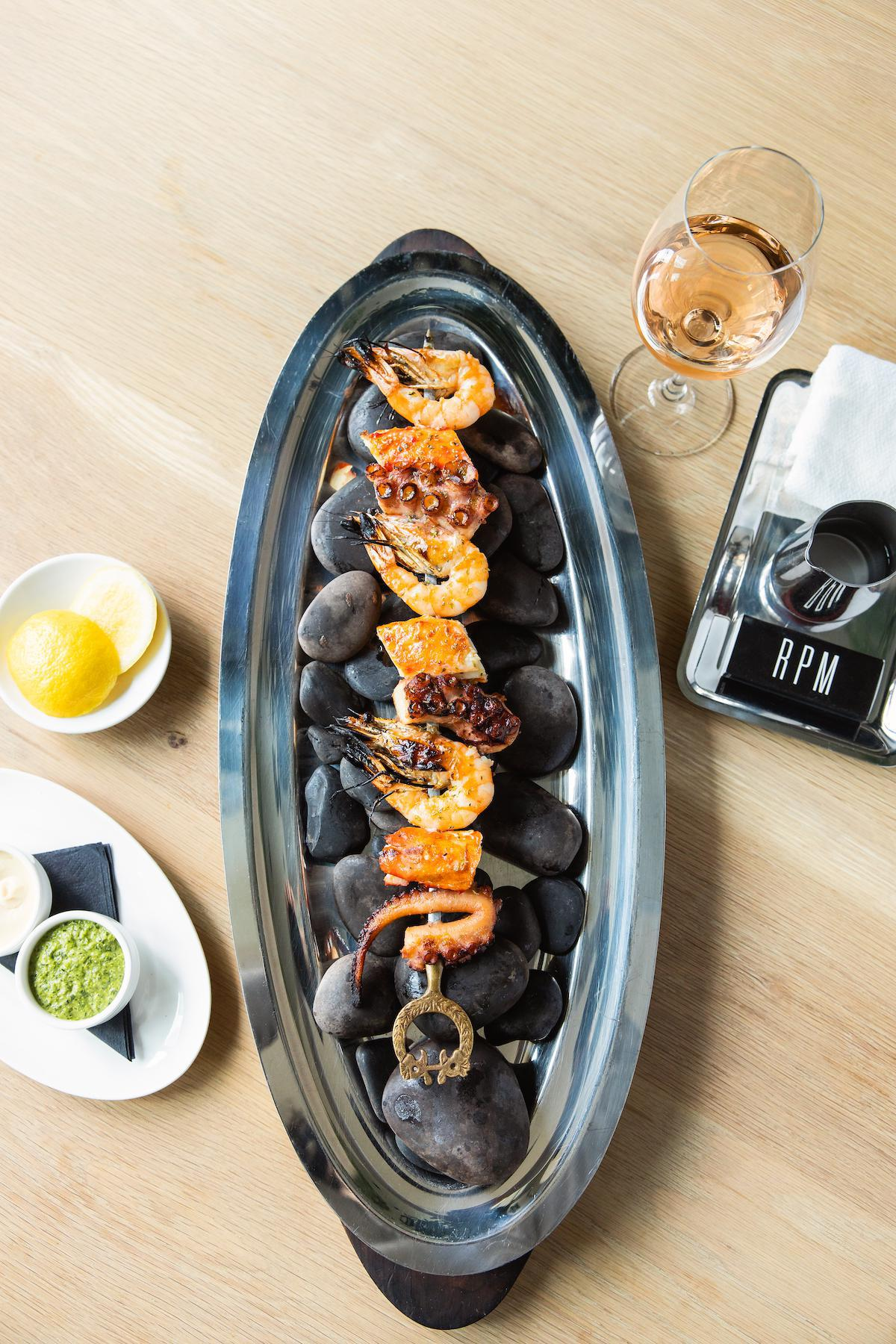 RPM Seafood Mixed Grill