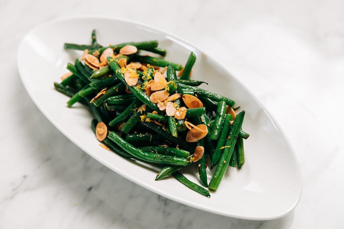 Haricots Verts Almondine
