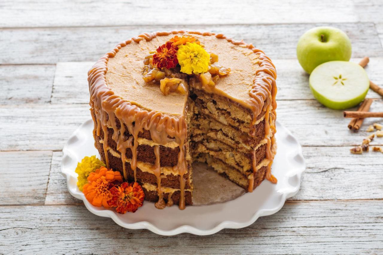 Fresh Apple Layer Cake