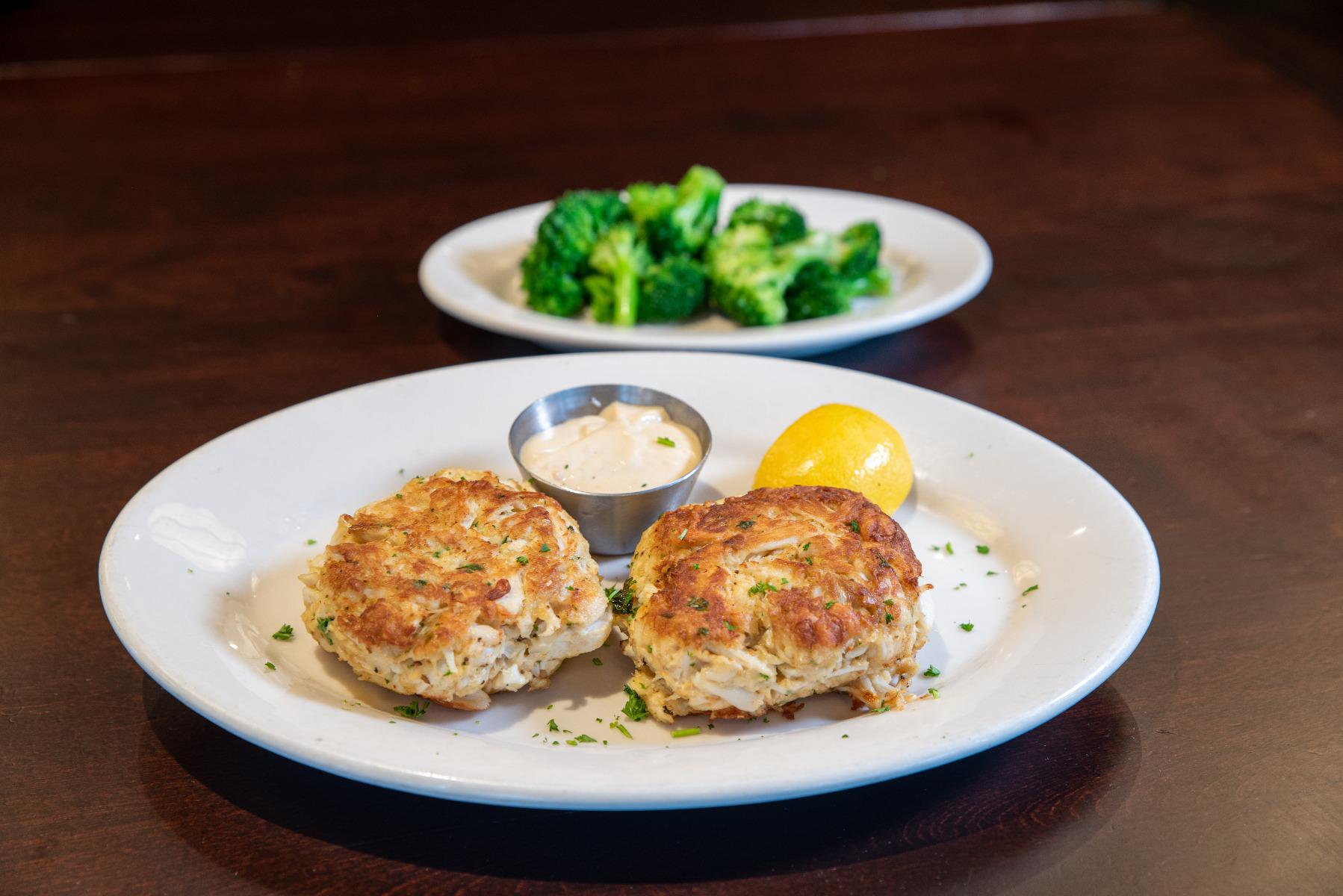 Oven-Roasted Lump Crab Cake Dinner