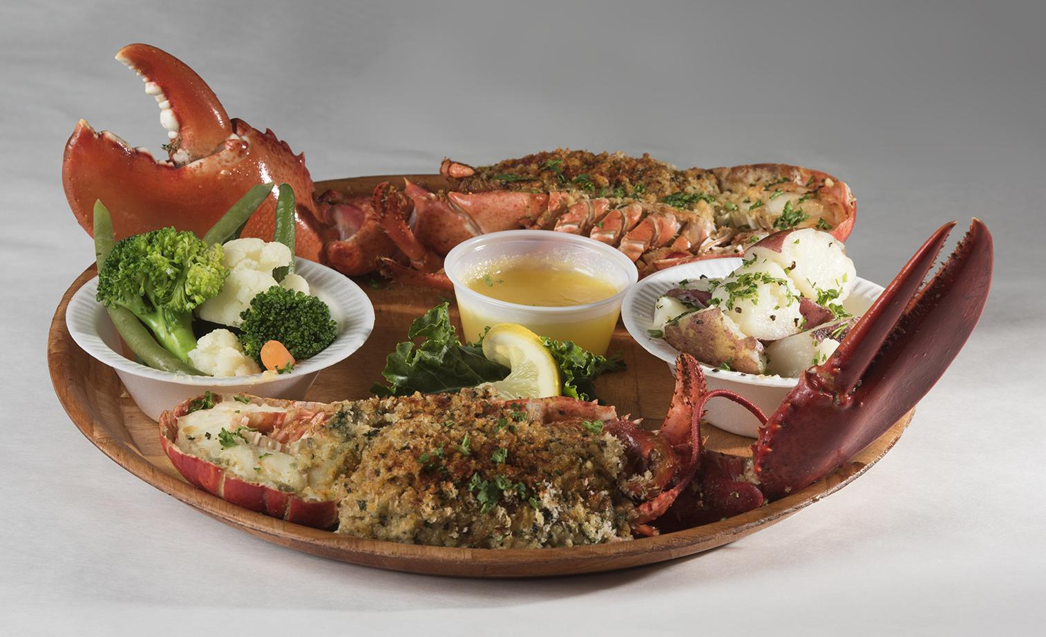 Whole Broiled Lobster Photo