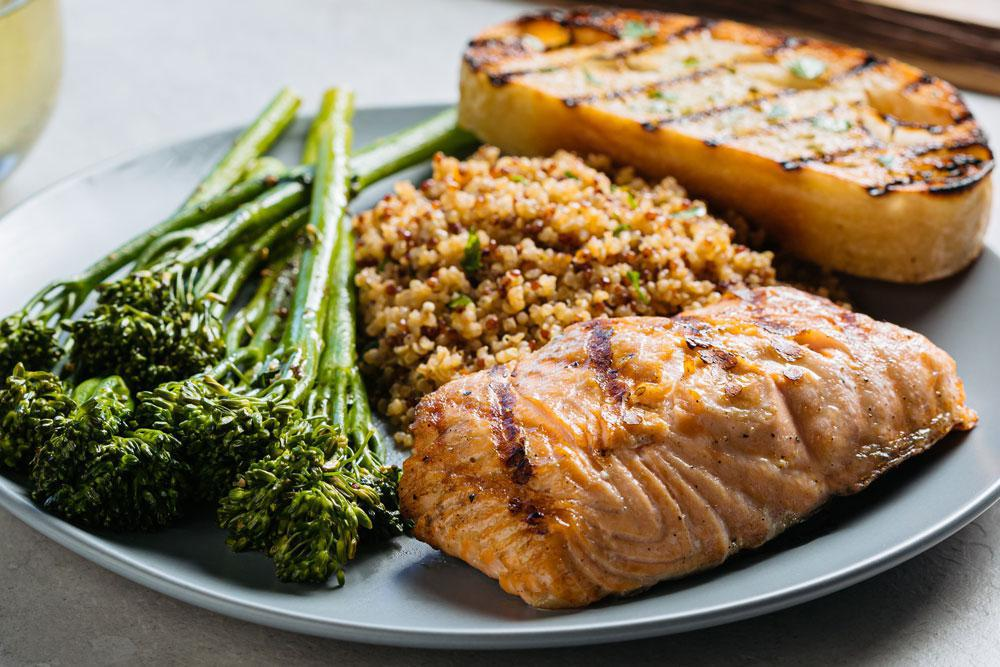 Grilled Sustainable Salmon