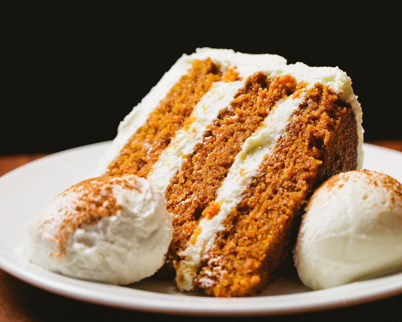 Martha's Special Occasion Carrot Cake