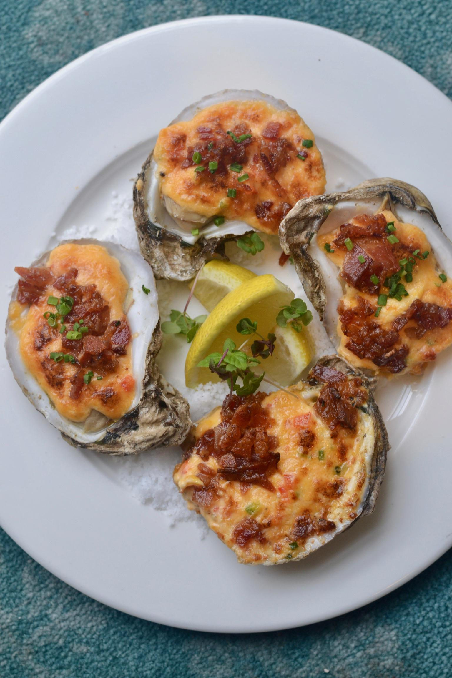 Baked Gulf Oysters Photo