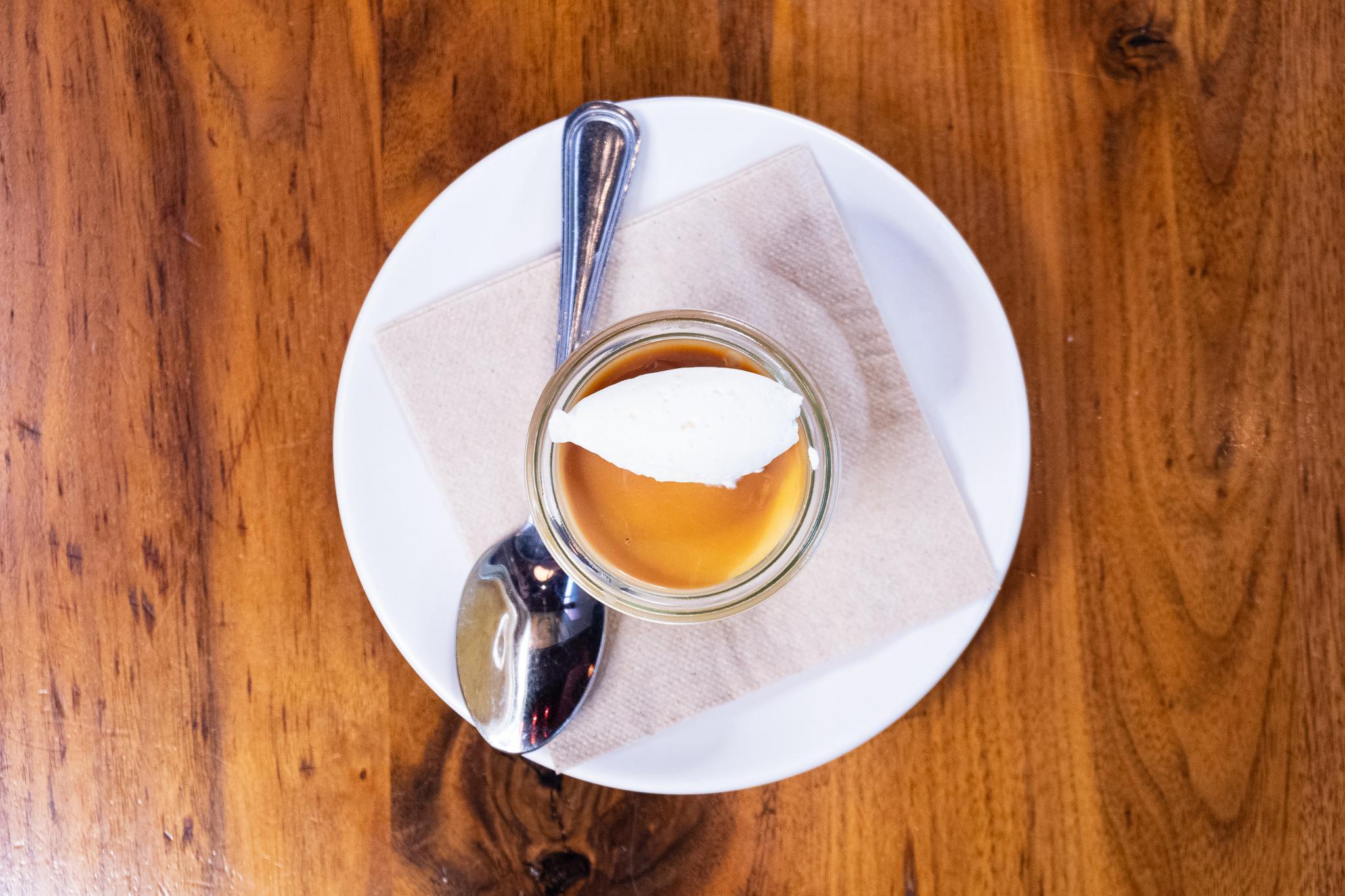 butterscotch custard