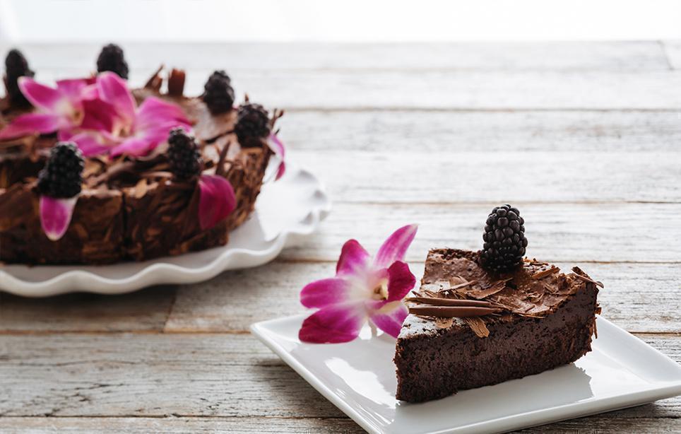 Flourless Chocolate Cake (gluten-free)