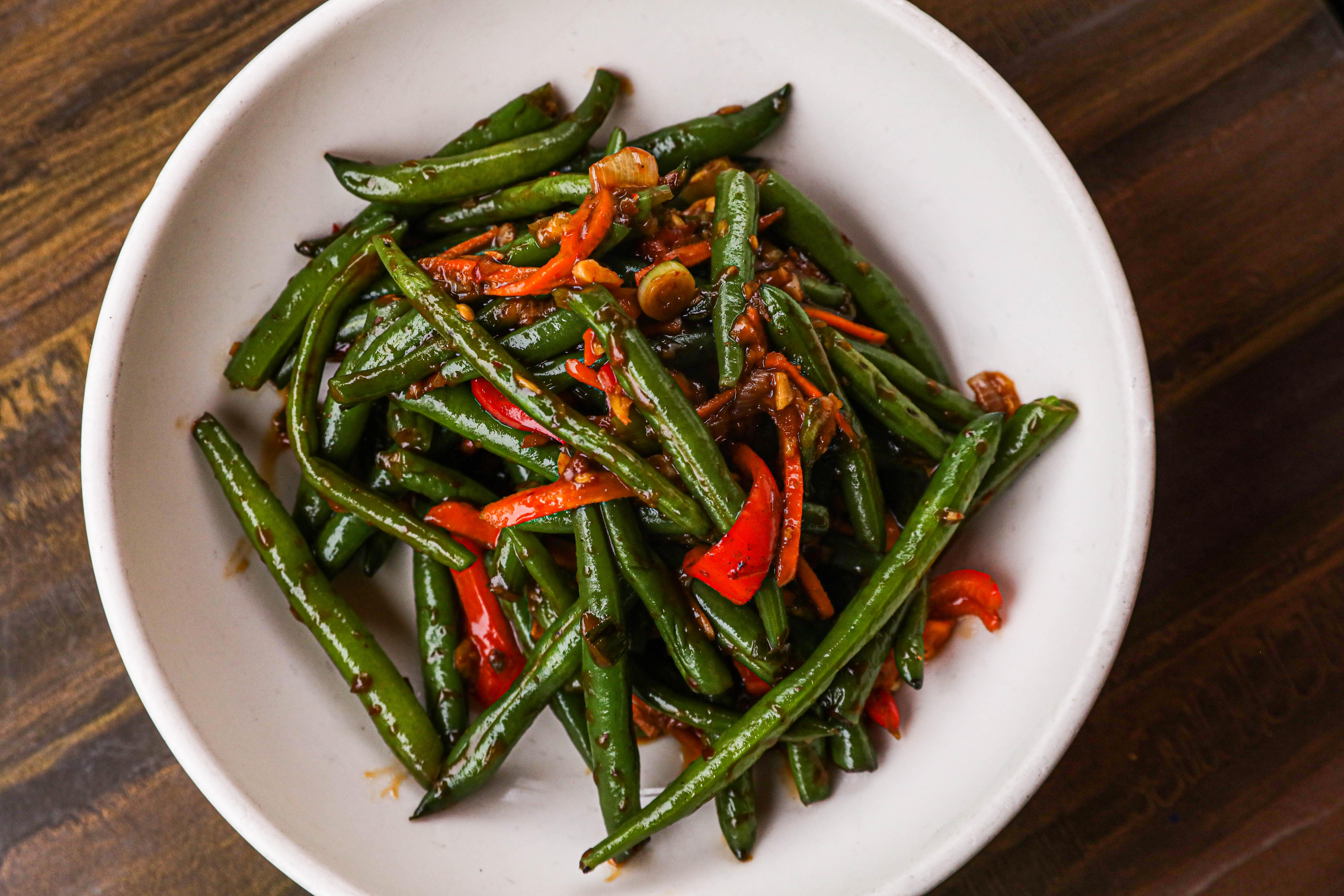 Wok-Tossed Spicy Green Beans