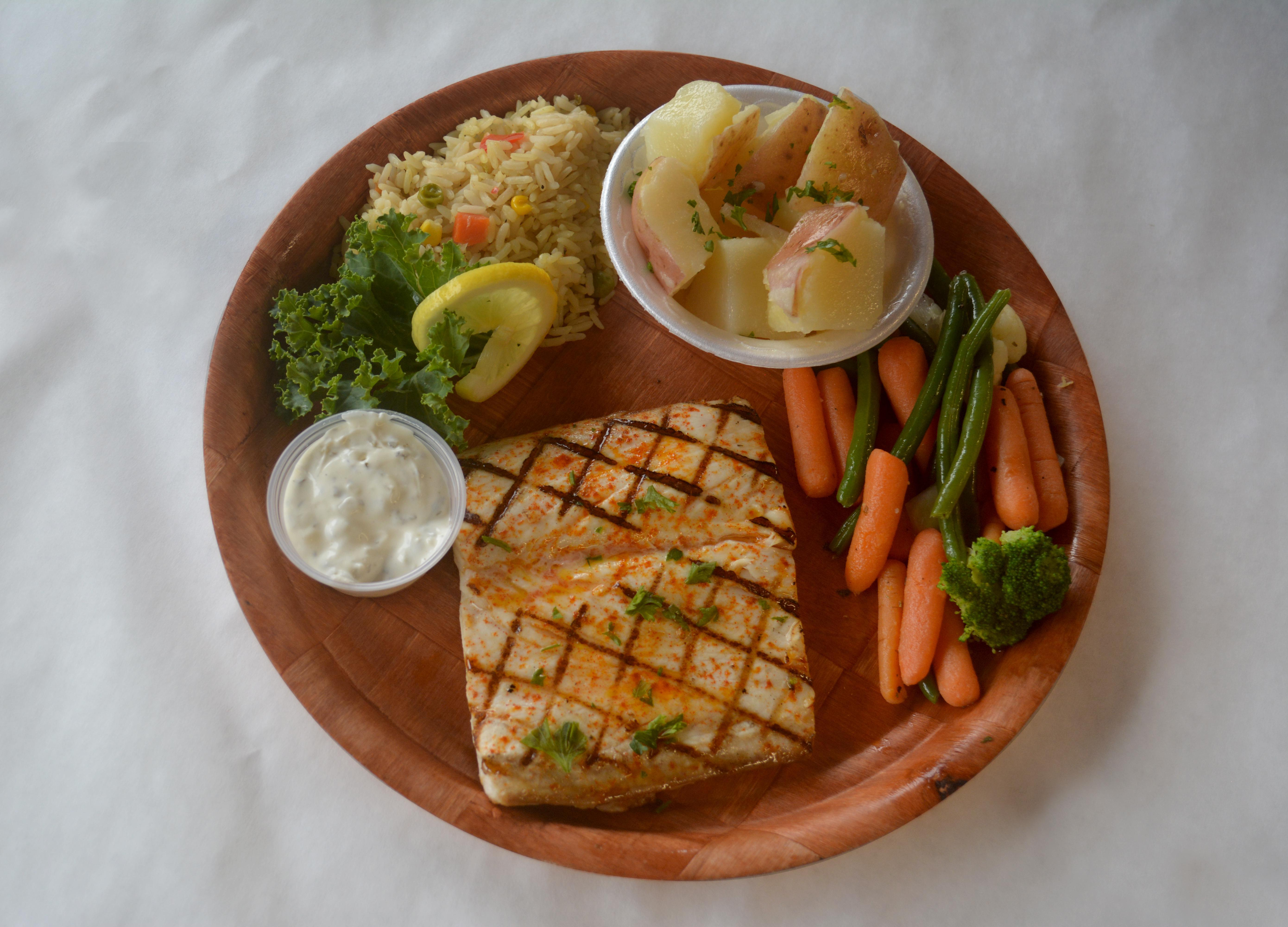 Grilled Dolphin Platter Photo