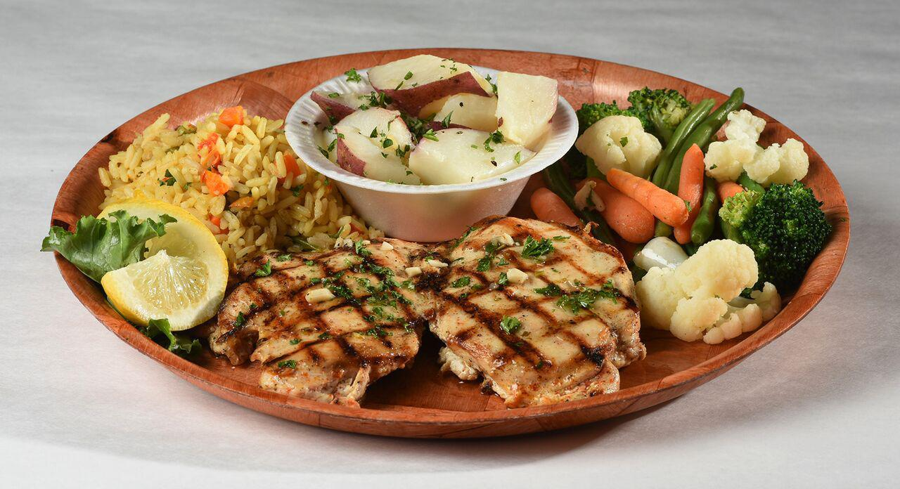 Grilled Breast of Chicken Photo