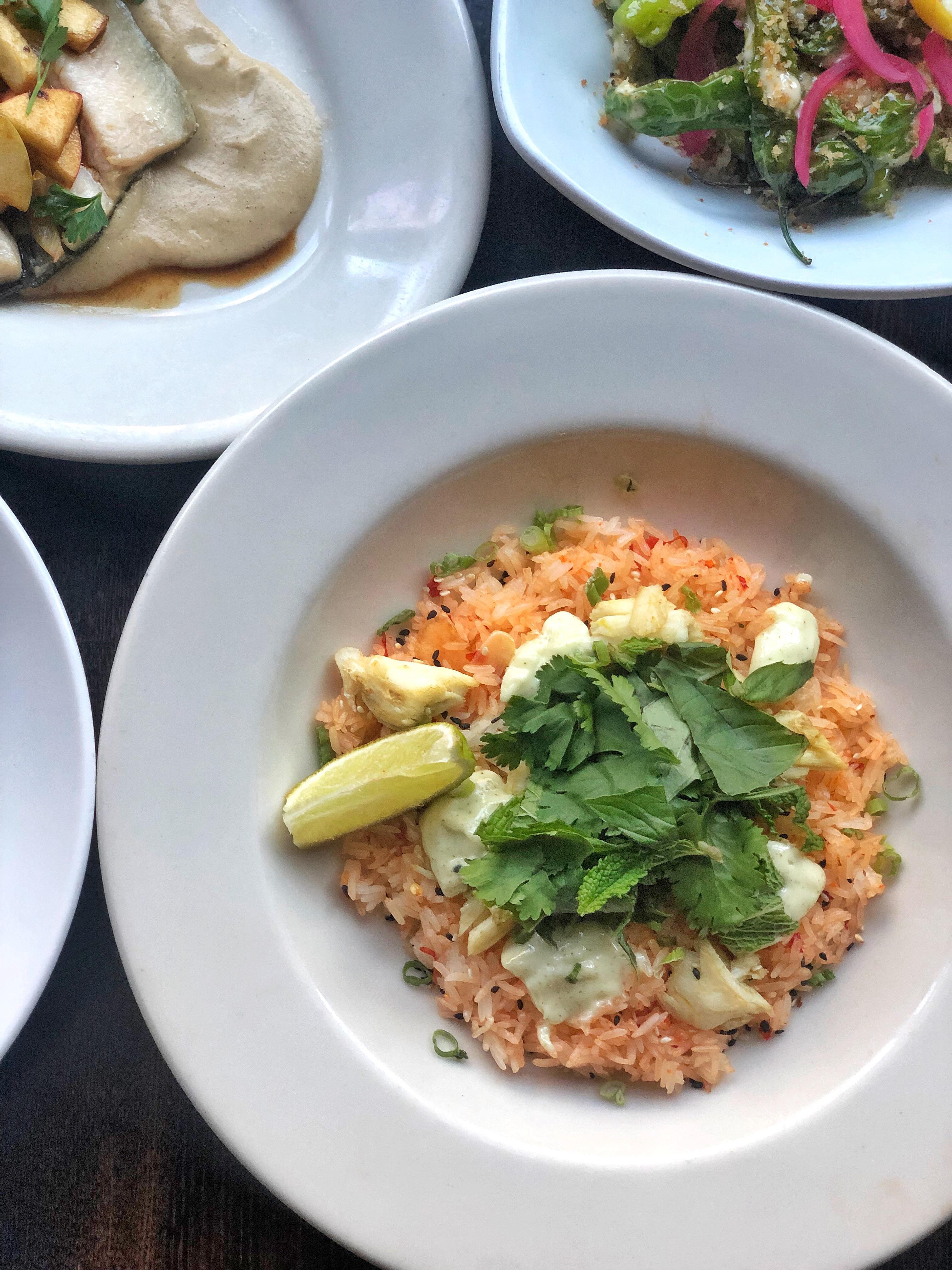 Blue Crab Chili Rice