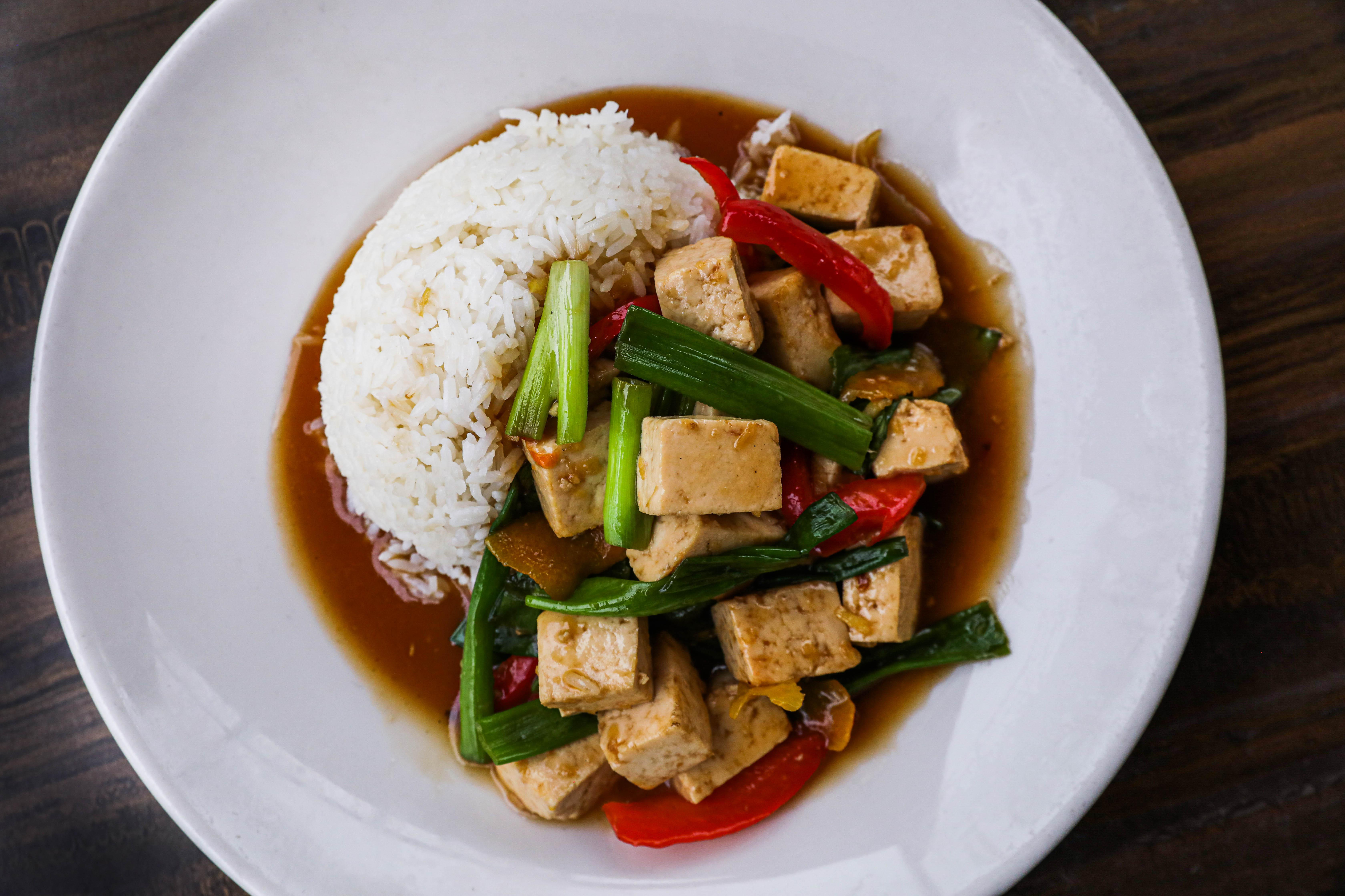 Orange Tofu